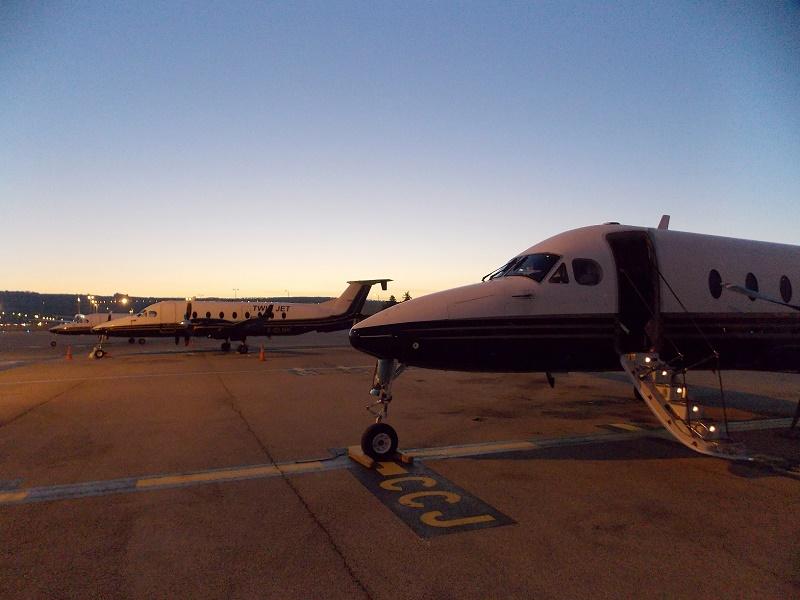 Les appareils de la compagnie Twin Jet - DR