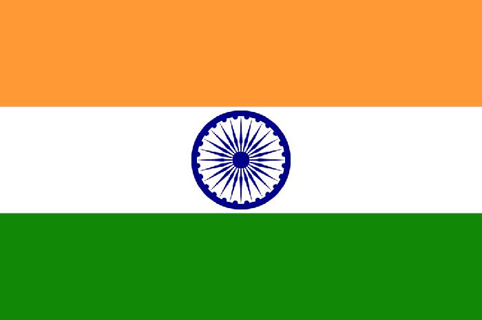 Drapeau de l'Inde - DR