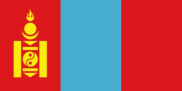 Le drapeau de Mongolie - DR