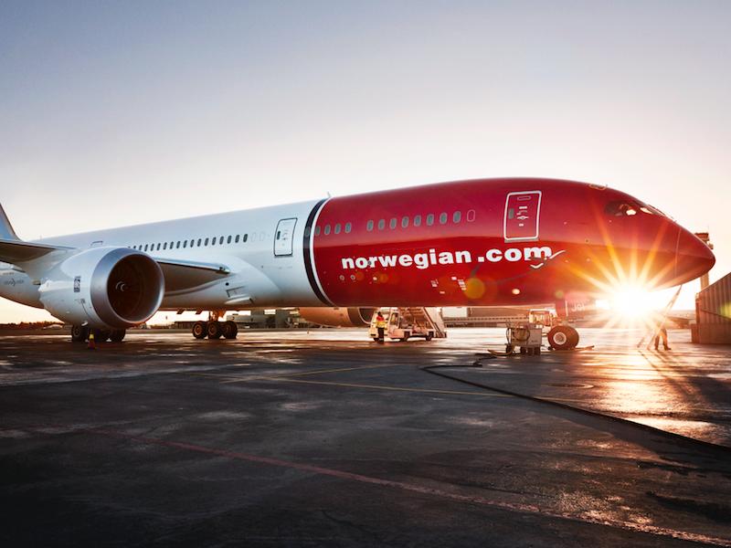 La nouvelle filiale de Norwegian, Norwegian Air Argentina, pourrait se lancer dès cette année vers Tahiti, la Guadeloupe et la Martinique © Norwegian