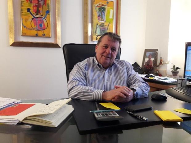 Sylvain Lament, patron du groupiste Syltours et créateur du CEAG. Photo MS.