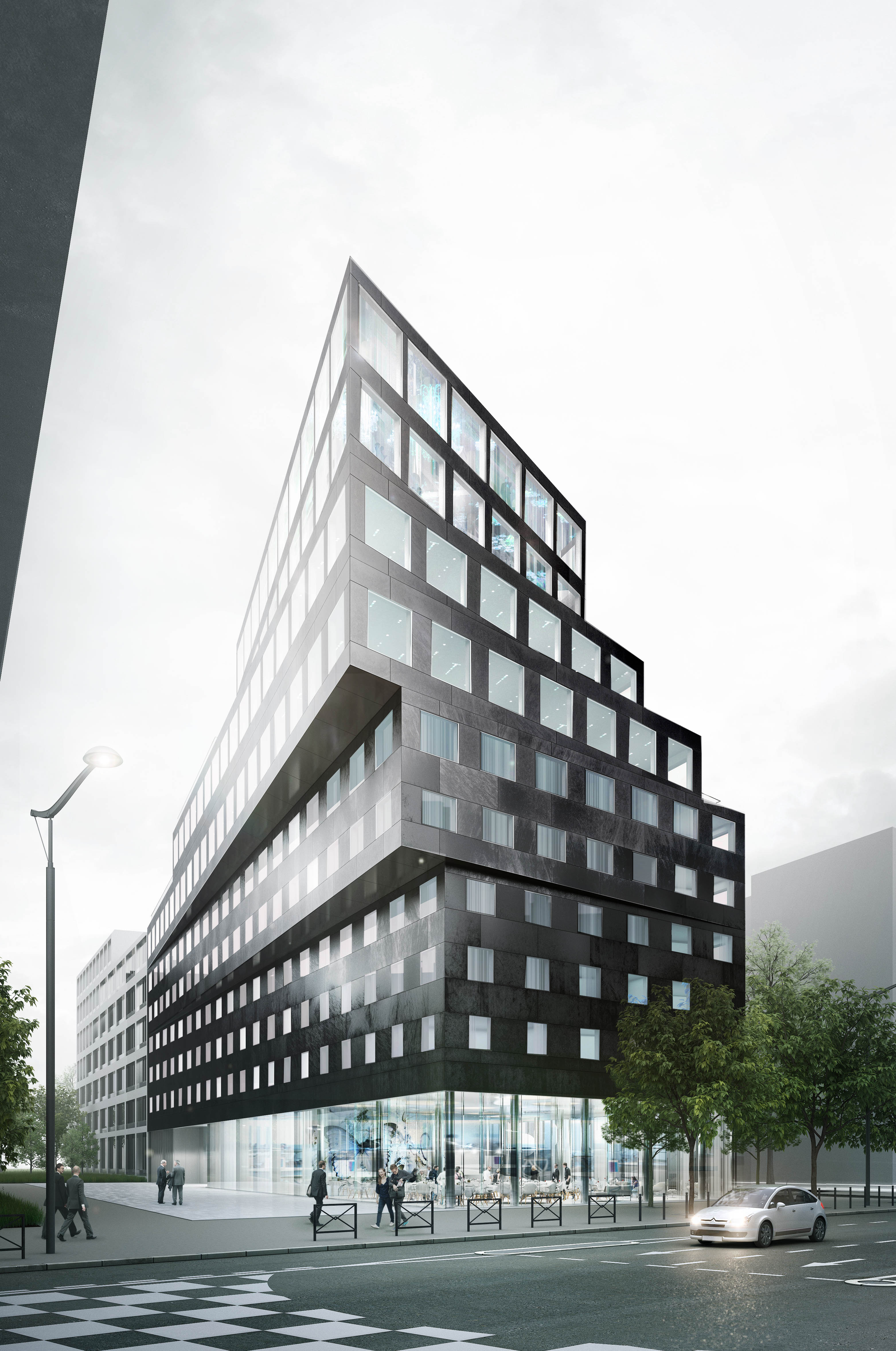 Le Qualys-Hotel Paris Montmartre (4 étoiles) ouvrira ses portes en juillet. Il est d'ores et déjà ouvert à la réservation pour les groupes. - SEH