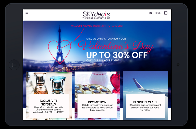 "Les catalogues ""Plug & Play"" by SKYdeals Crédit : SKYdeals"