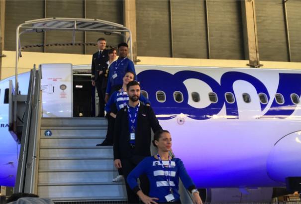 Joon a lancé ses vols sur le moyen-courrier le 1er décembre 2017 © DR