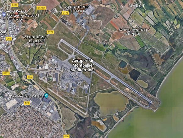 L'aéroport de Montpellier a accueilli plus de 1,8 million de passagers - DR