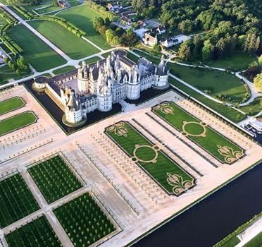 Le château de Chambord affiche une fréquentation record en 2017 - Photo Château de Chambord