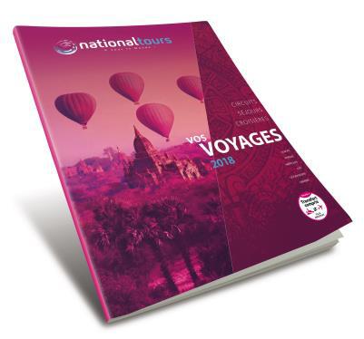 """La nouvelle brochure """"vos voyages 2018"""" - DR"""