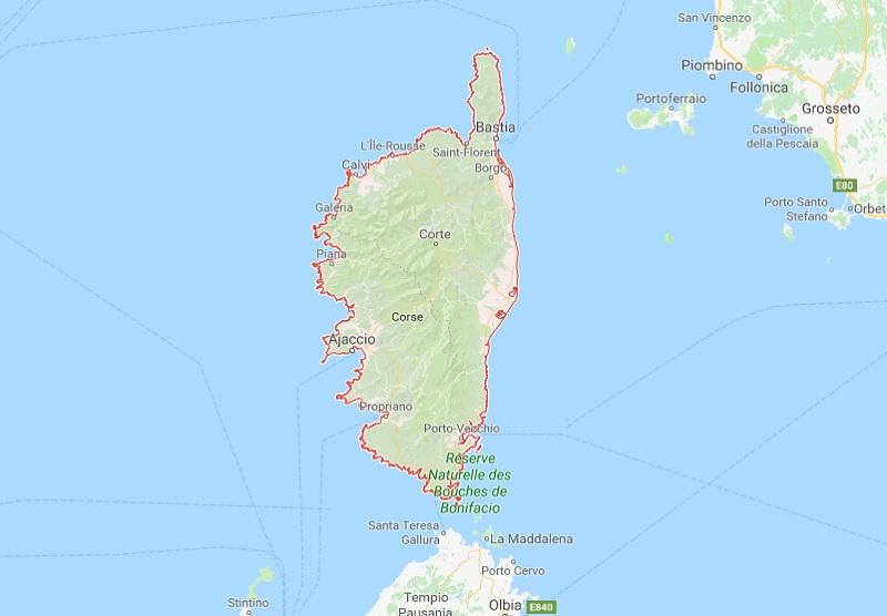 La Corse est placée en vigilance orange au vent - DR