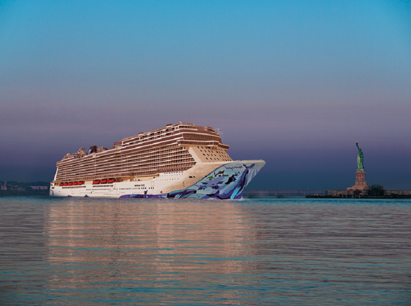 Le Norwegian Bliss partira depuis New York pour 18 croisières - DR Norwegian Cruise Line