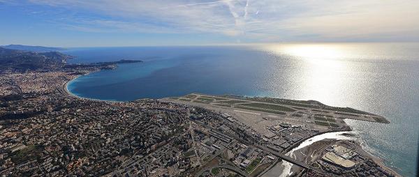 'Aéroport Nice Côte d'Azur clôt ainsi sa 7e année de croissance consécutive avec +7,1%. - DR