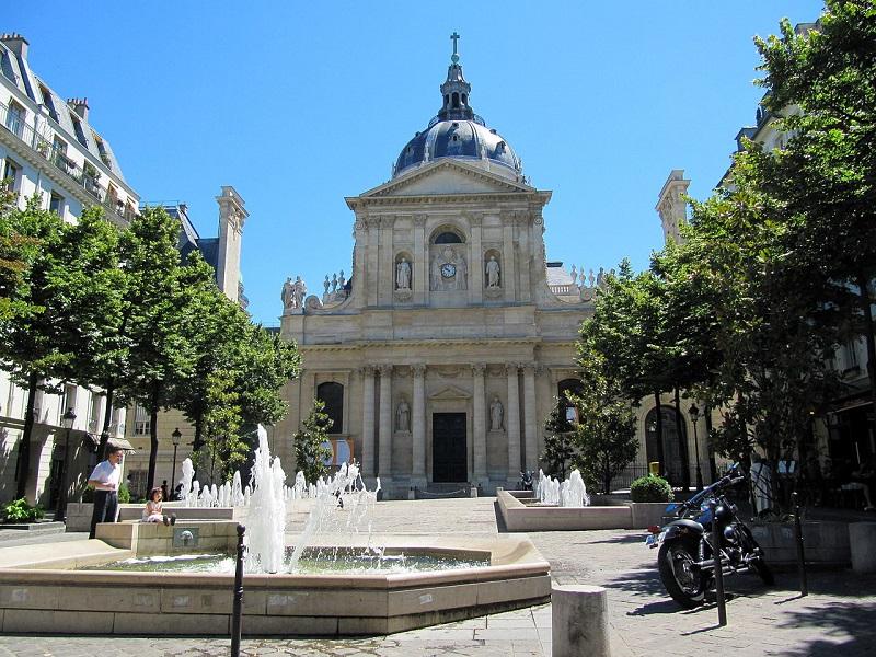 La Sorbonne est emblématique du fameux Quartier Latin à Paris - DR Dinkum / wikicommons