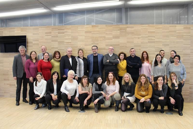 Les chefs d'équipe des 14 filiales de Travel Europe en Europe - DR