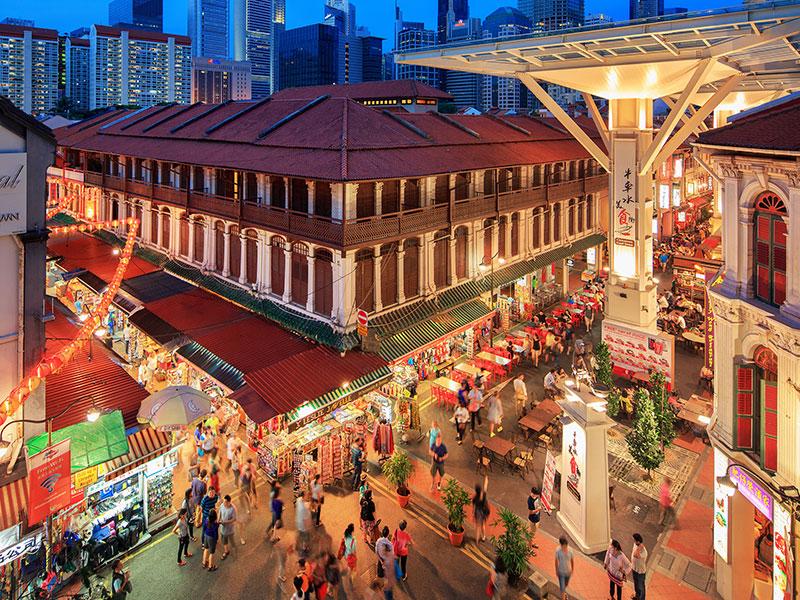 Singapour pour les explorateurs