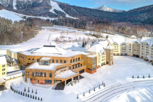 Le nouveau resort montagne inauguré par le Club Med au Japon - DR