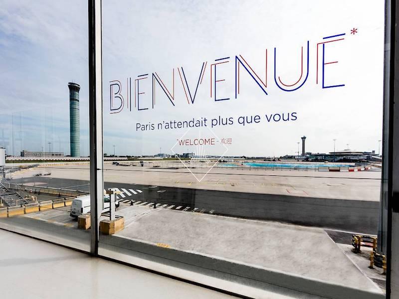 En 2017, Roissy a accueilli près de 70 millions de passagers © Gwen Le Bras pour Aéroports de Paris SA