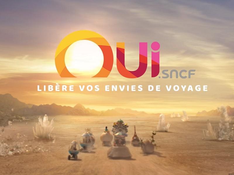 Capture écran du film Oui.sncf