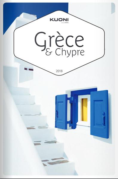 """Kuoni fait paraître une brochure """"Grèce & Chypre"""""""