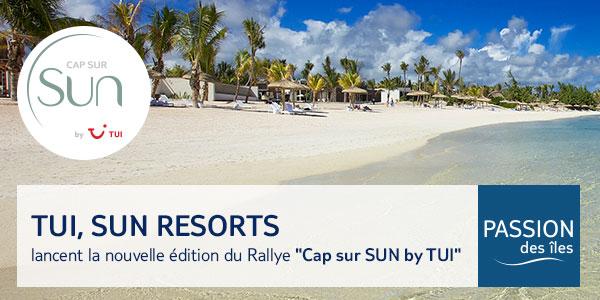 """Départ du rallye """"Cap sur Sun by TUI"""""""