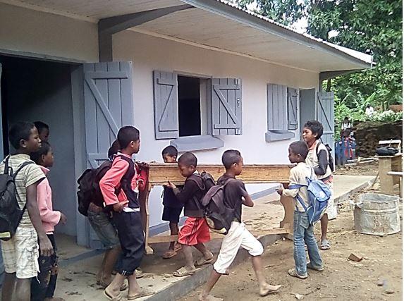 L'AFST finance une école à Madagascar - DR AFST