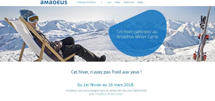 Capture écran : Amadeus