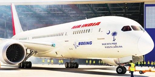 Crédit photo : Air India