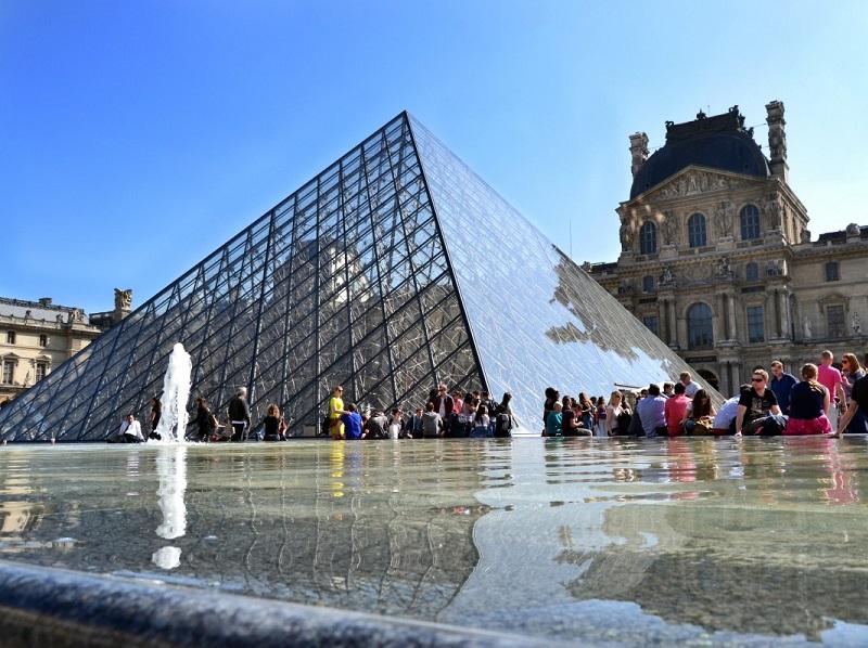 8,1 millions de visiteurs au Louvre en 2017 - CC0 Domaine public