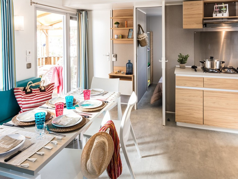 90% de la flotte d'European Camping Group est composée de mobile-home - DR : European Camping Group