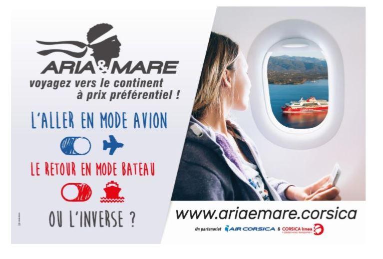 Aria e Mare : une offre de mobilité dédiée aux résidents corses