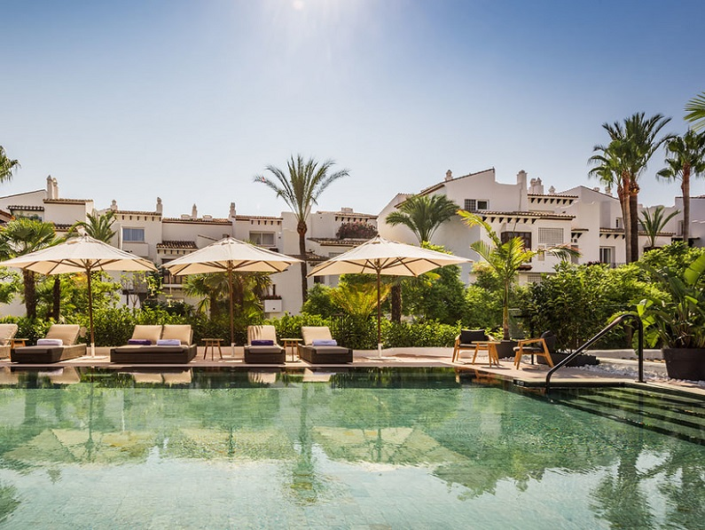 A Marbella, Robert de Niro a ouvert le Nobu Hotel 100% sans marmot - DR nobuhotelmarbella