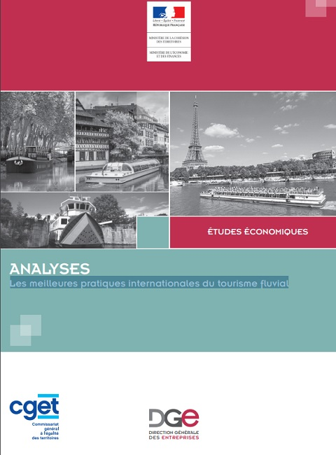 Etudes économiques sur le tourisme fluvial publiée sur le site de la DGE - DR