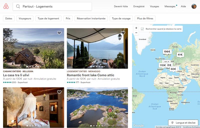 Le tribunal d'instance de Paris condamne Airbnb dans le cadre d'une sous-location illégale - Capture écran