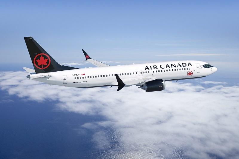 En 2018, le renouvellement de notre parc de gros-porteurs sera en grande partie achevé à mesure que s'accélère le programme de remplacement des appareils monocouloirs du parc aérien principal. - B737 Max d'Air Canada