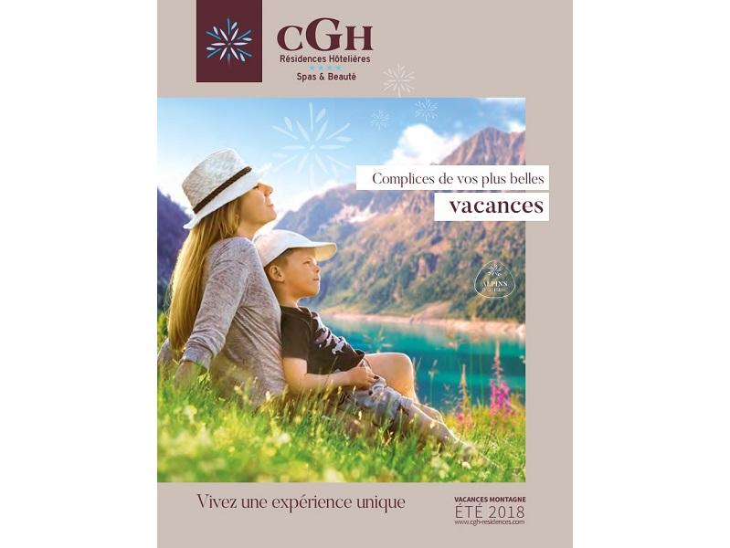 CGH Résidences & Spas présente sa nouvelle brochure