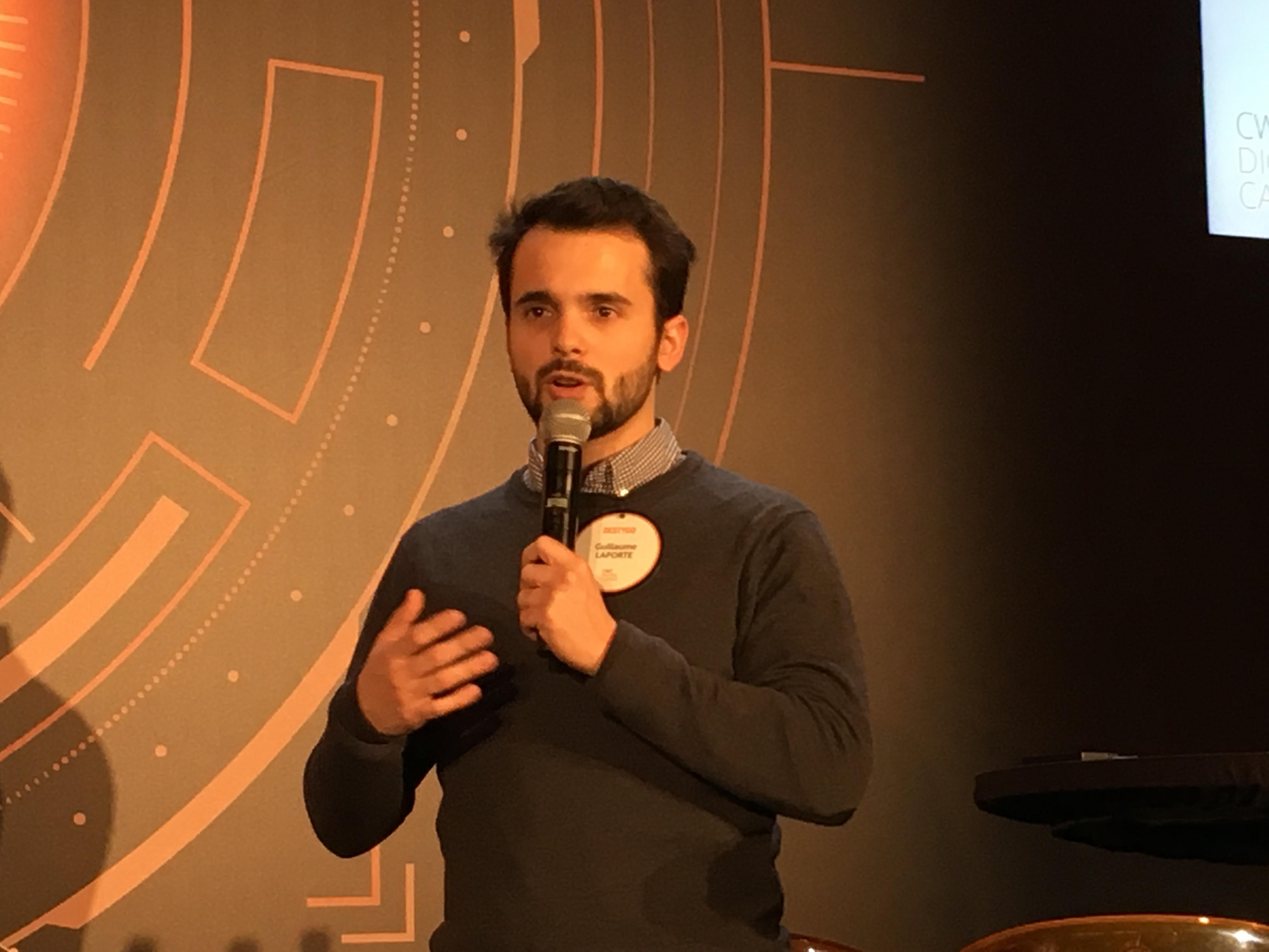 Guillaume Laporte, CEO Destygo. - CL