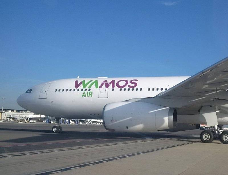 Wamos Air une compagnie privée espagnole basée à Madrid qui opère principalement des longs courriers et b[loue ses avions auprès de différentes compagnies, telles que Royal Air Maroc, Finnair, Air Algérie, Corsair, Air Caraïbes ou Air France - Photo Facebook Wamos