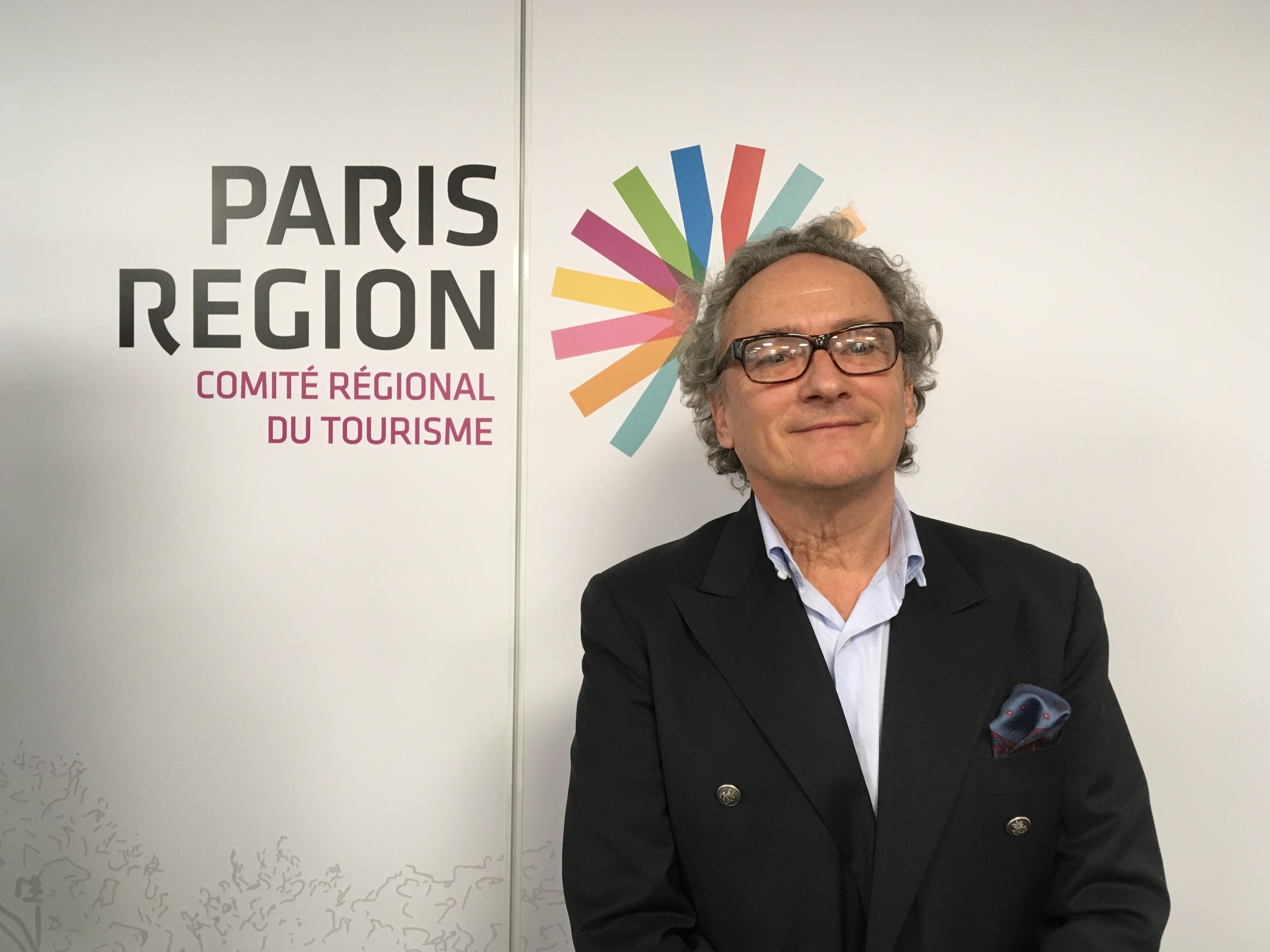 Eric Jeunemaître est le nouveau président du Comité régional du tourisme Paris Île de France, en poste depuis le 23 janvier 2018. - CL