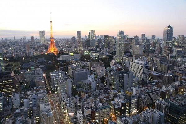 L'office de tourisme du Japon fait visiter les villes du pays aux organisations internationales, ici Tokyo - Crédit photo : compte Facebook @DecouvrirleJapon