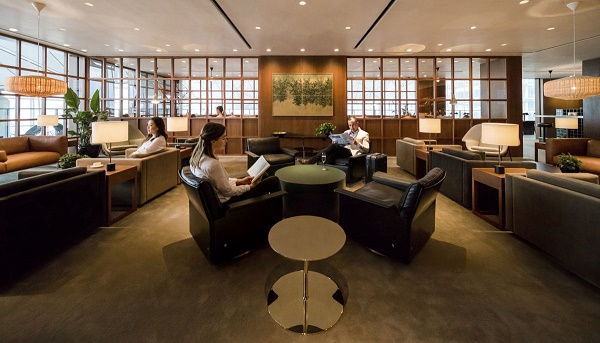 Cathay Pacific dévoile son nouveau salon à Hong Kong - Crédit photo : Cathay Pacific