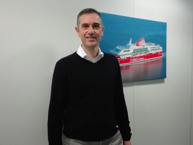 """Pierre Mainguy, directeur marketing et commercial de Corsica Linea : """"nous ne cherchons pas la croissance effrenée mais d'abord la satisfaction client"""" - photo TourMaG JP"""