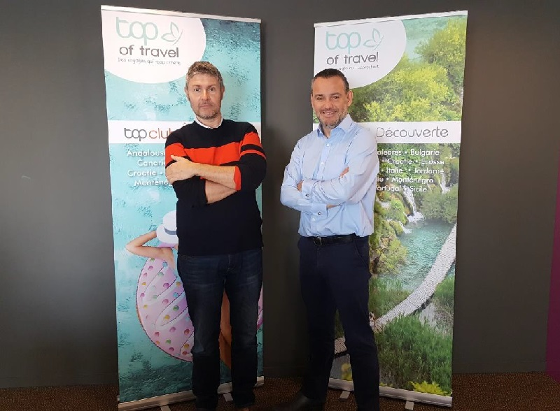 Gilles Pannekoucke rejoint les équipes commerciales de Top of Travel - DR