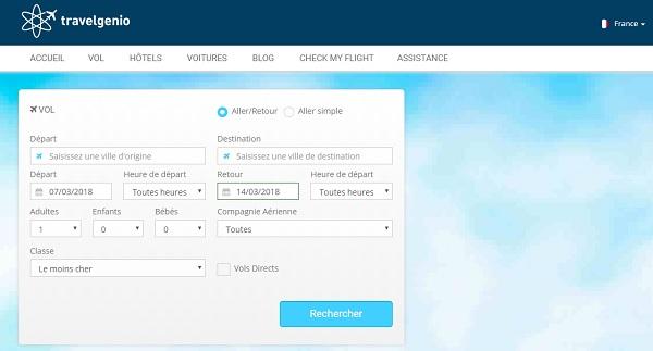 Travelgenio renforce son partenariat avec Travelport - Crédit photo : capture écran site Travelgenio