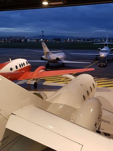 Le nouvel hangar à Lyon Bron - Photo DR