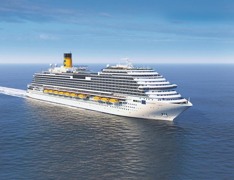 Le Costa Venezia affiche 135 500 tonneaux de jauge brute et comprend 2 116 cabines, pour une capacité totale de 5 260 passagers - Photo Costa Croisiere