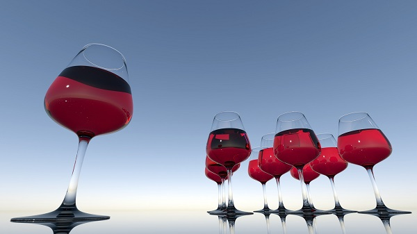 La guerre du vin dans l'aérien - Crédit photo : Pixabay, libre pour usage commercial