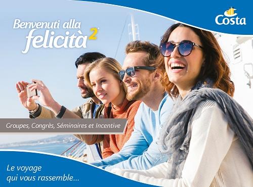 La brochure groupes Costa Croisières - DR Costa