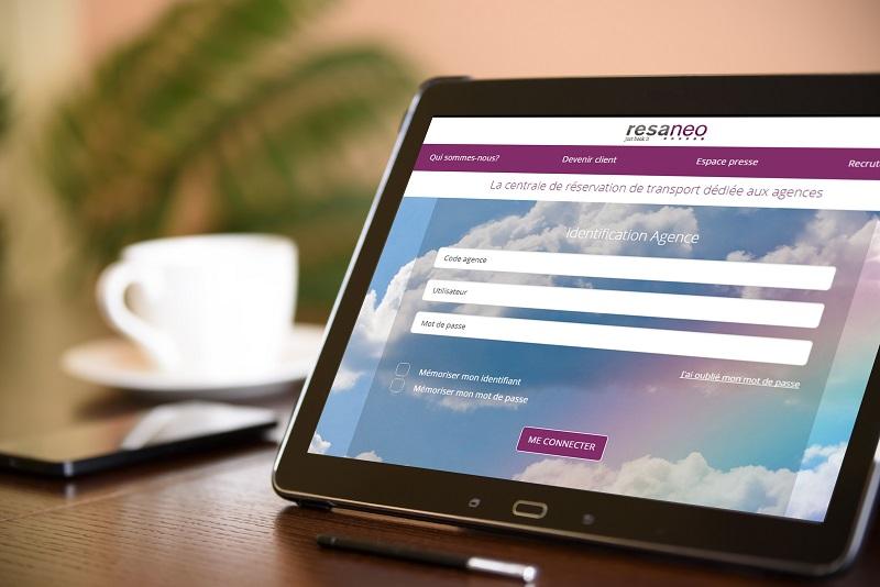 Resaneo lance son nouveau site pour ses clients B2B