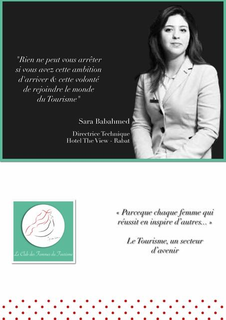Maroc : Le Club des Femmes du Tourisme lance une campagne de valorisation des métiers