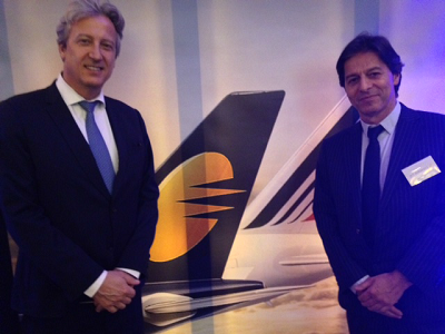 Zoran Jelkic (Air France) et Michel Simiaud (Jet Airways) - DR
