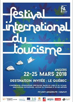Le Festival International du Tourisme se tiendra à Angers du 22 au 25 mars 2018  - DR