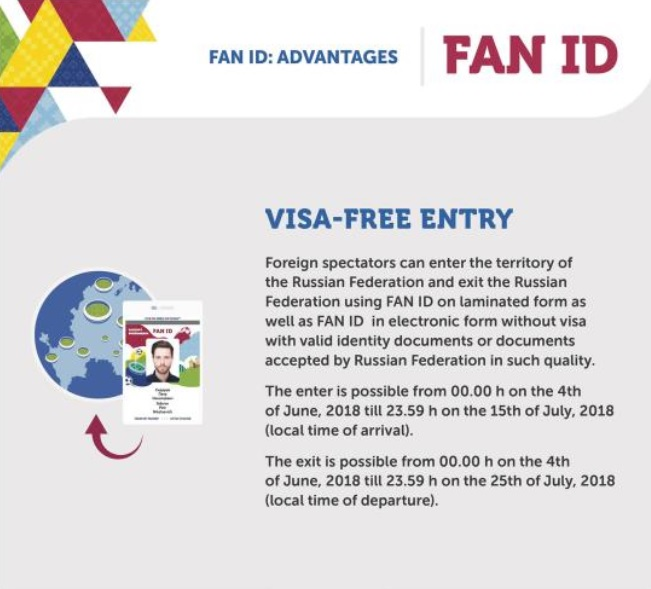 Coupe du Monde en Russie, changement de la législation pour les entrées dans le pays - Crédit photo : Télécommunications et des Communications de masse de la Fédération de Russie